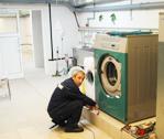 Ремонт оборудования химчистки и прачечной